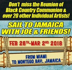 BCC To Reunite on The KTBA at Sea Cruise IV! Joe Bonamassa, The Reunion, Montego Bay, Jamaica, Sailing, Cruise, Blues, Sea, Album