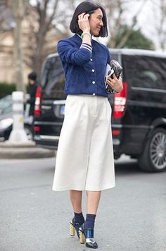 """Image Consultant I Visual Branding advisor : Culottes - The """"It"""" silhouette for Spring-summer"""