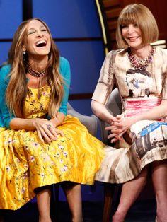 awesome News | Anna Wintour e Sarah Jessica Parker dividem a entrevista no Late Nigh com Seth Meyers