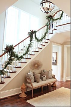 stairs - look at detail on trim along stairs - need to add this
