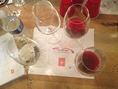 Wine tasting flights