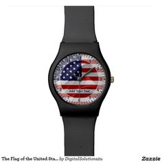 The Flag of the United States of America Wrist Watches