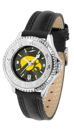 Iowa Hawkeyes Ladies Competitor Watch With AnoChome Dial