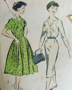 #patternoftheday #dressmaking #vintage #1950s
