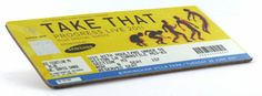 Ticket coasters Take That Concert TicketCoaster