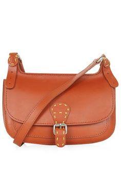 '70s Leather Satchel