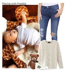 """""""Playing with Freddie"""" by xcuteniallx ❤ liked on Polyvore featuring AYR, Nolita, Native Union, Gund and adidas Originals"""