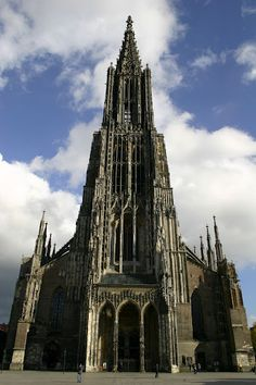 Ulm, Germany  Tallest church in the world.