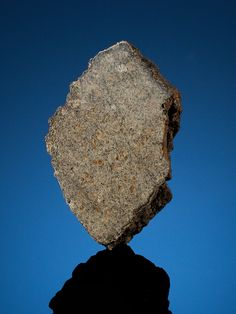 A martian meteorite sold at auction in June 2013.