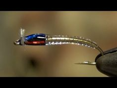 Tak's Crystal Chironomid Fly Tying Directions - YouTube