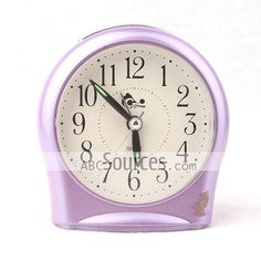 China Wholesale High Quality Purple Wall Clock Home Decorative Craft