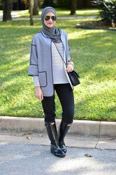leena asad winter hijab, Street styles hijab looks http://www.justtrendygirls.com/street-styles-hijab-looks/