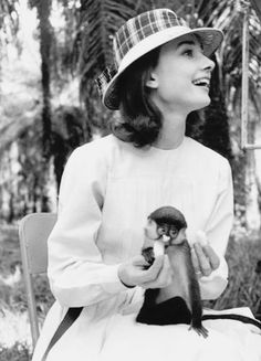 Audrey Hepburn in the Congo filming The Nun's Story. Photo: Leo Fuchs, 1959.