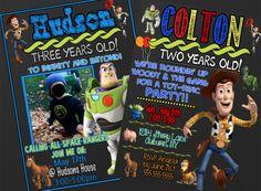 Custom Toy Story Birthday Party Invitations  by CustomPrintablesNY, $5.00