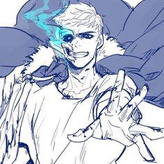 grafika adorable, anime, and blue eye