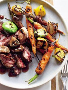 Slimming Superfood Recipe: Steak with Red Wine Mushroom Sauce: Good news, carnivores: Steak is a superfood! #SelfMagazine