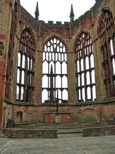 Ruins of Coventry's Cathedral.I want to go here one day.Please check out my website thanks. www.photopix.co.nz
