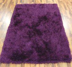 Premia Shaggy - Purple Rugs   Modern Rugs Purple Rugs, Shaggy, Modern Rugs, Rugs In Living Room, Shag Rug, Colours, Pattern, House, Design