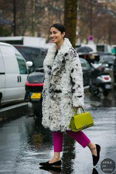 Paris SS 2018 Street Style: Caroline Issa