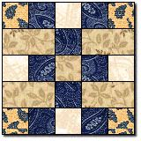 Instructions show traditional piecing; would be simpler and quicker to use strip piecing Quilt Block Patterns, Pattern Blocks, Quilt Blocks, Quilting Projects, Quilting Designs, Quilting Tutorials, Quilting Ideas, Sewing Tutorials, Sewing Ideas