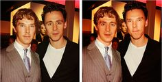 hiddlesbatch. I think Tom has naturally more attractive features. But Ben looks great as Tom...I think its the jaw line..
