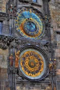 "Astrological clock, Prague  (from ""places i've been more than all my birthdays + all my christmases ;)"