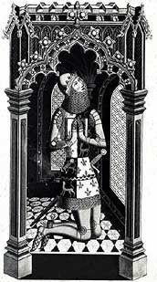 Engraving - Edward the Black Prince