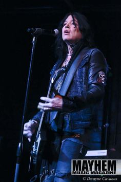 "Tom Keifer during his ""The Way Life Goes 2015 Tour"" at Ace of Spades in Sacramento - photography by Dwayne Cavanas for Mayhem Music Magazine"