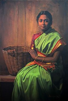 By S Ilayaraja. Typical silks worn by women of South India for daily wear.