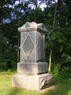 Delaware monument at Gettysburg