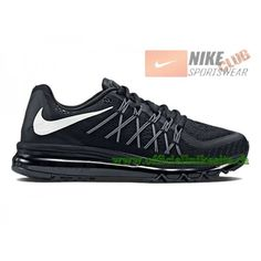 various colors fd3ef cdad9 Nike Air Max 2015 Chaussures de Running Pour Homme NoirBlanc 698902-001, Nike Air Max 2015,Nike Air Max 2015 Pas Cher,Nike Air Max 2015 Homme 99,99