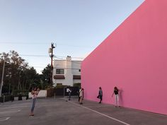 Paul Smith Pink Wall - 8221 Melrose Ave, Beverly Grove, Los Angeles, CA