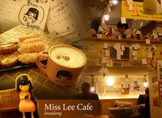 Korean traditional snacks, Miss Lee Cafe in Insadong #korea #travel #seoul #cafe