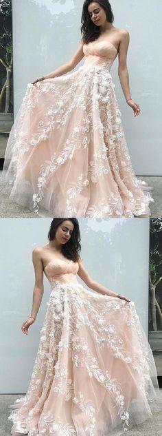 Mermaid Sweetheart Floor-Length Pink Prom Dress with Appliques Split ... bb7571b3eb91