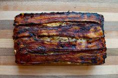 paleo meatloaf, best paleo meatloaf, paleo bacon meatloaf, bacon wrapped paleo m. Bacon Meatloaf, Bacon Wrapped Meatloaf, Meatloaf Recipes, Paleo Recipes Easy, Real Food Recipes, Cooking Recipes, Meat Recipes, Paleo Diet Breakfast, Paleo Bacon