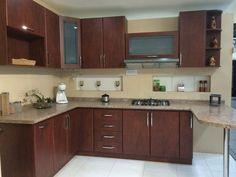 Imagen relacionada Wooden Kitchen Cabinets, Kitchen Cupboard Designs, Kitchen Room Design, Modern Kitchen Design, Home Decor Kitchen, Home Kitchens, Kitchen Ideas, Kitchen Modular, Modern Kitchen Interiors