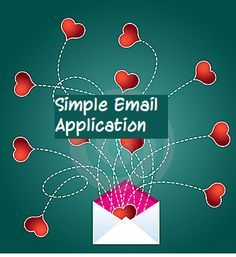 How to create simple email application?