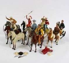 Hartland& Wild West Wonder Toys - Vintage Old Toys Retro Toys, Vintage Toys, 1960s Toys, Antique Toys, Bryer Horses, Toys Land, Baby Boomer, Cowboys And Indians, Old Tv Shows