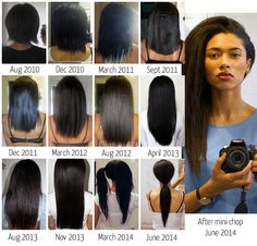 Relaxed Hair Journey Motivation!