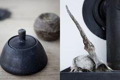 Love the black jar! Photographs by Jonas Bjerre-Poulsen