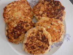 lngrédients: 500g de blanc de poulet /dinde 100g fromage blanc 0% 4 oeufs 1 cuillère à café de moutarde 1/2 cuillère à café de gingembre 1 échalote 1 cuillère à café d'épices à poulet une pincée de piment d'Espelette (facultatif) Sel, poivre Préparation:...
