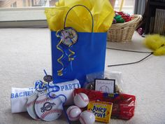 My Best Friend's Wedding: Baseball Game Bachelorette Party | Little Miss Wedding Planner