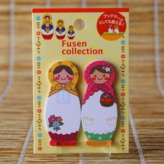 Ginko Papers - Stickers & Post-Its - Matryoshka Dolls Post-It Notes