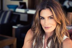 """[I should do] a book with 50 iconic images from throughout my career married to 50 essays about the lessons that I learned along the way to celebrate turning 50, because turning 50 is hard for any woman, or at least the idea of it is hard."" http://www.thecoveteur.com/cindy-crawford/"