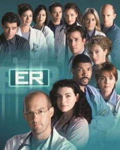 Created by Michael Crichton. With Anthony Edwards, George Clooney, Julianna Margulies, Eriq La Salle. The work and lives of a group of emergency room doctors in Chicago. Michael Crichton, Film Serie, Movies Showing, Movies And Tv Shows, Top Tv, Tv Sendungen, Mejores Series Tv, Cinema Tv, Tv Shows