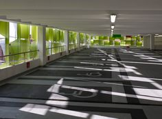 Charles Street Car Park Sheffield _ architects Allies and Morrison_Sheffield, Parking level