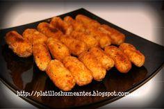 Platillos Humeantes: Croquetas de arroz con jamón