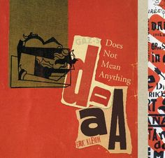Dada Does Not Mean Anything | Blurb Books