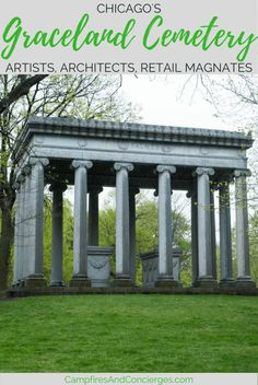 Chicago, Illinois, USA | Graceland Cemetery | Chicago Devil in the White City | Cemetery Tours | Chicago History #chicago #graceland