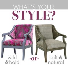 The Camden chair looks great in any finish and any fabric, to create a style you'll love!
